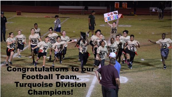 Congratulations to our Football Team!