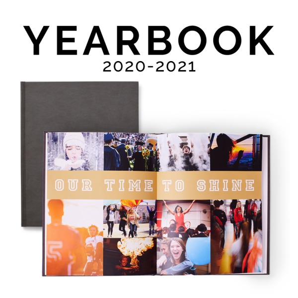 2020-2021 Yearbook for sale now