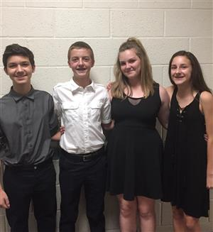 2016 NJHS Officers
