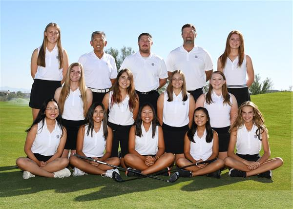 Girls Golf Team 2019