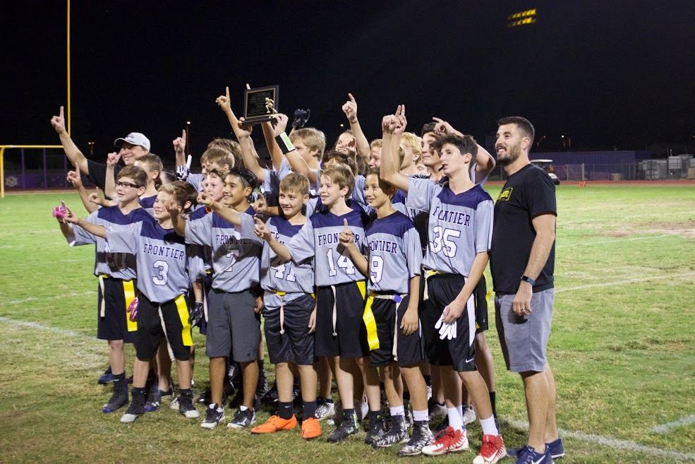 Frontier Boys Win District Championship