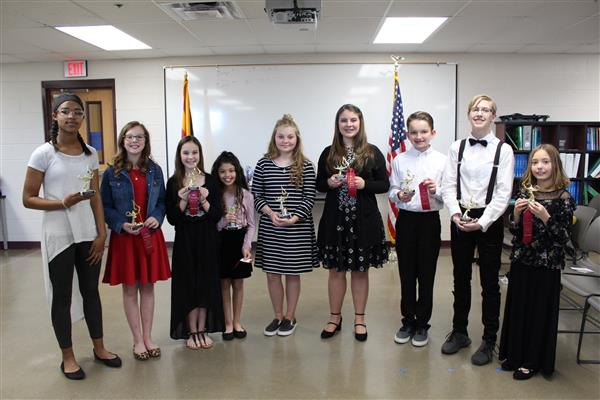Patriotic Speech Contest Winners