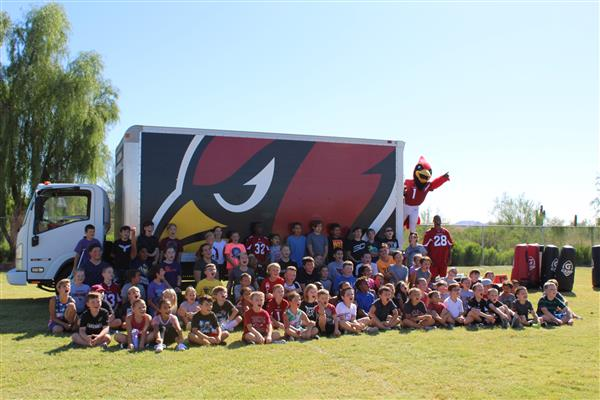 AZ Cardinals Football Camp