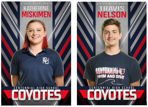 Congratulations to our Athletes of the Month!