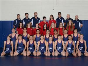 Boys' Wrestling Team and Mat Maids