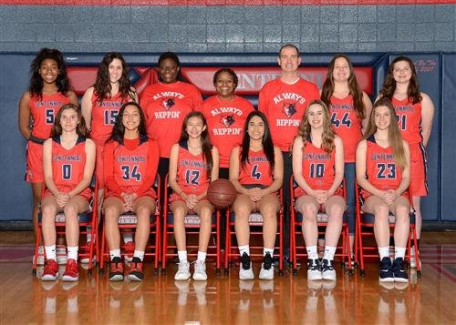 2018 girls varsity basketball