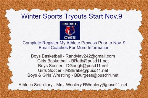 winter coach contact info