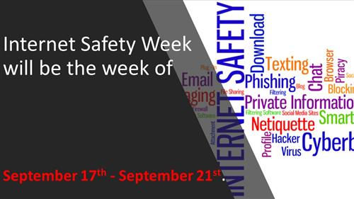 Internet Safety Week September 17-21