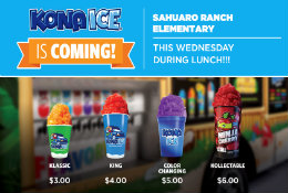 Kona Ice Will Continue To Be Here the First Wednesday of Every Month