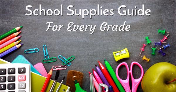 Student Supply Lists for the 2019-2020 School Year