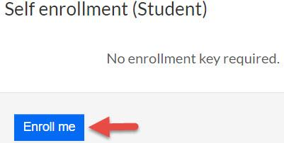 self enrollment