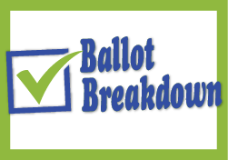 Ballot breakdown logo