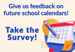 Take the calendar survey. Give us feedback on future calendars.
