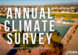 Annual Climate Survey.  Please complete by March 8, 2021.
