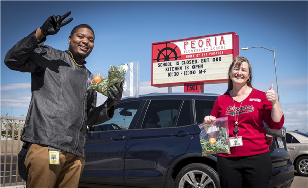 Peoria Unified Graduate Helps Feed Community