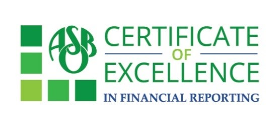 Peoria Unified Receives Certificate of Excellence in Financial Reporting