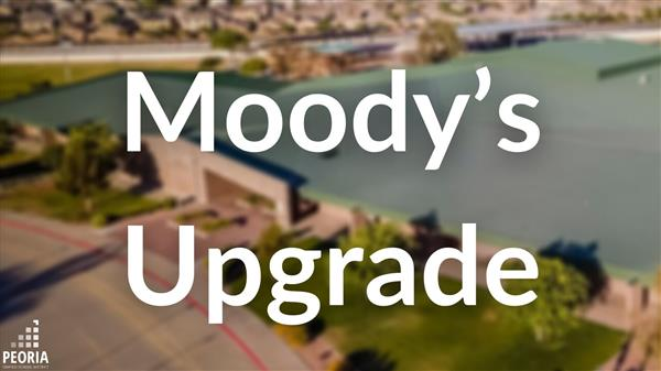 Moody's Investor Services Upgrades Peoria Unified's Bond Rating