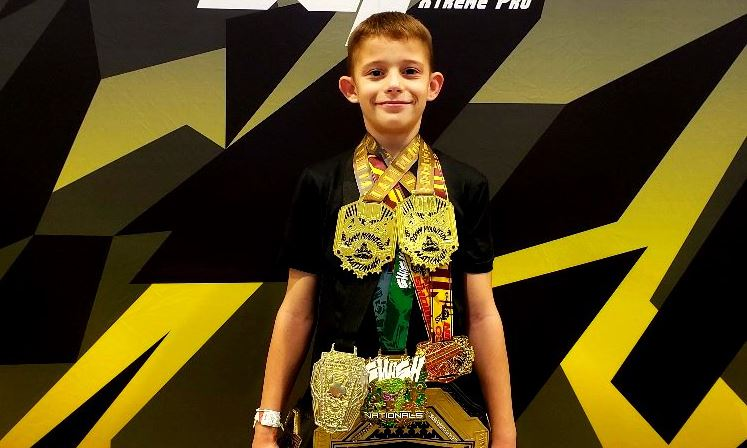 Sunset Heights Student Wins National Wrestling Tournament