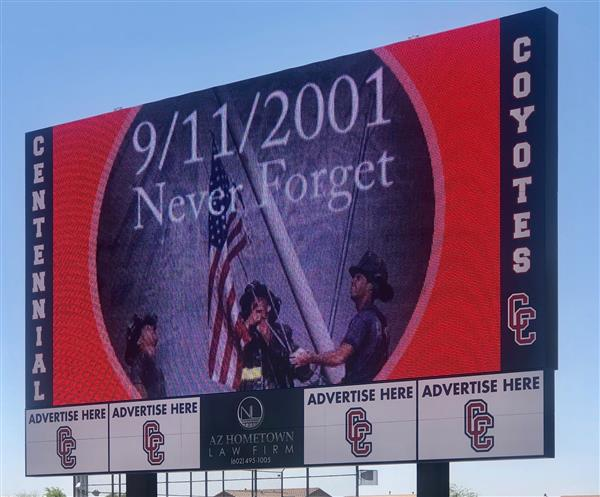 CeHS Pays Tribute 9/11 First Responders