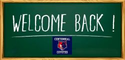 Welcome Back Coyotes 2020-21 School Year Information