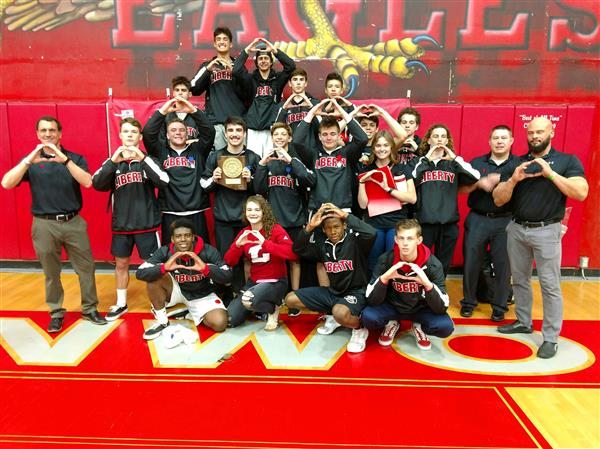 Successful Year for Liberty's Wrestlers