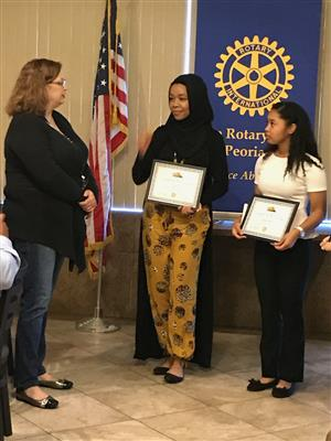FEBRUARY ROTARY STUDENT OF THE MONTH