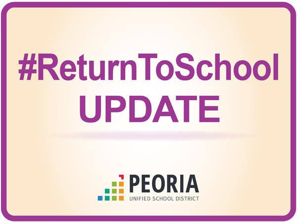 Important Updates to our Return to School Plan