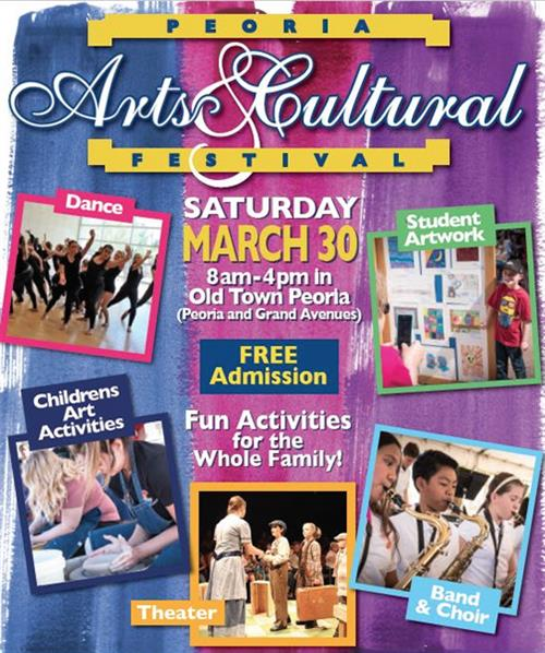 Arts Festival on March 30
