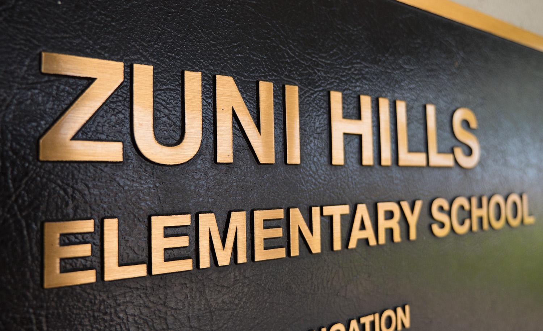 Zuni Hills Elementary School Homepage