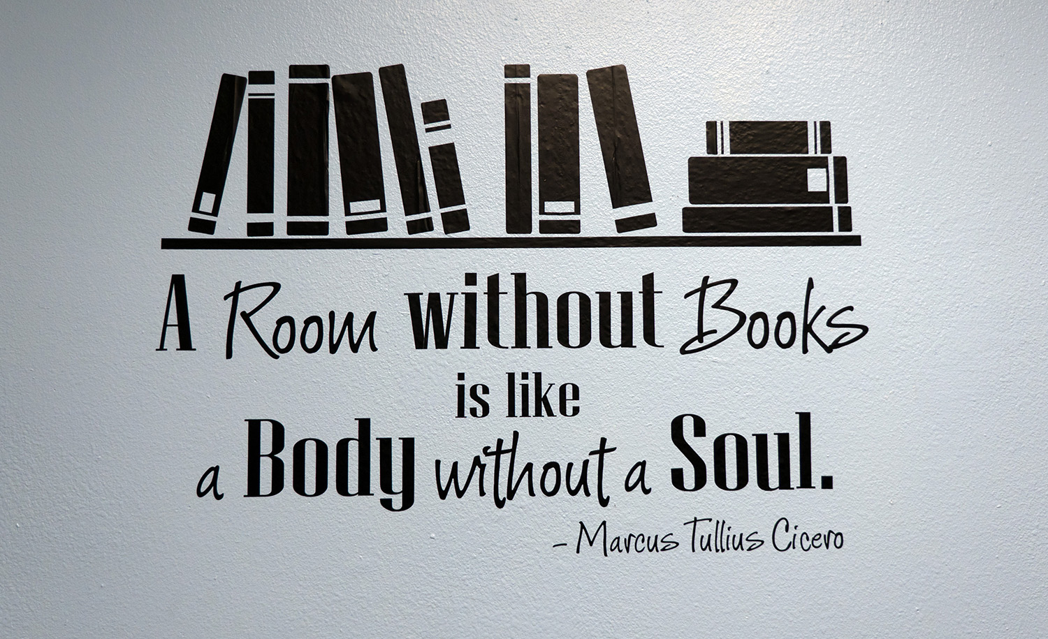 Image result for a room without books is a body without soul