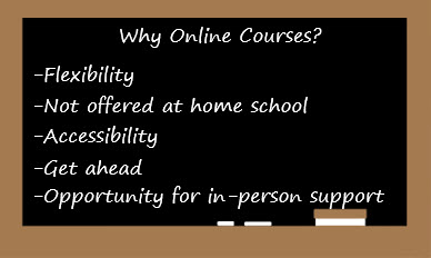 Why online courses